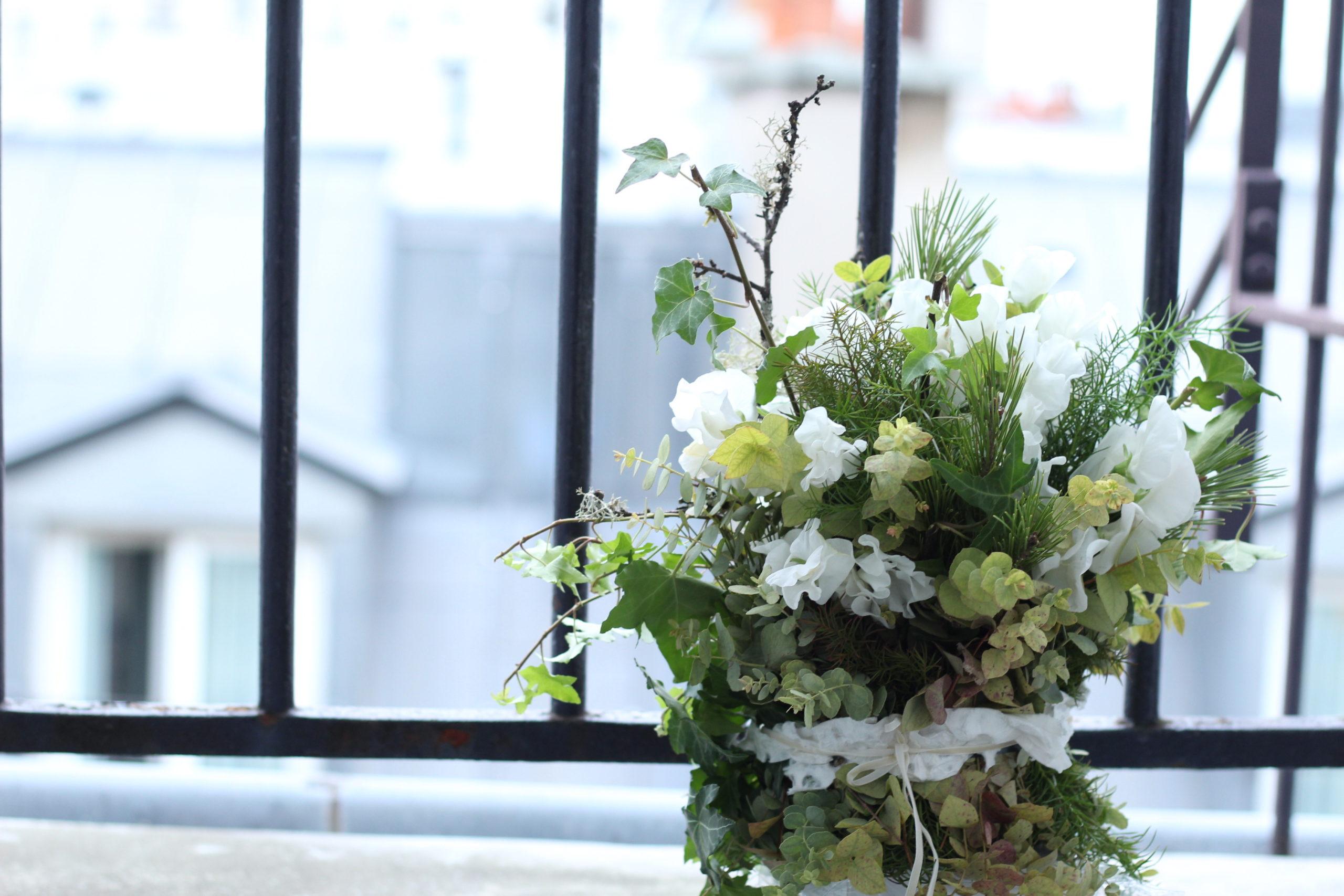 Bonjour!fleurs パリスタイルフラワー教室